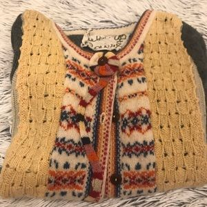 Vintage Anthropologie Knit Sweater